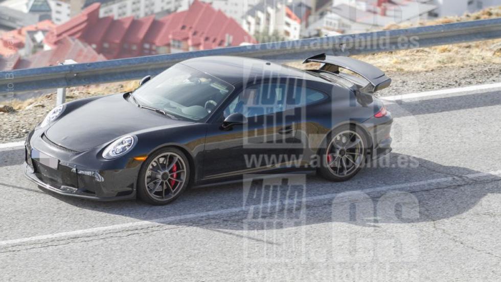 Porsche 911 GT3 2017 fotos espía