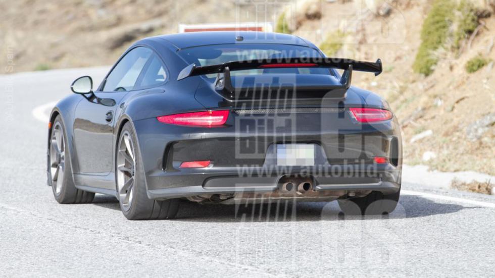 Porsche 911 GT3 2017 fotos espía culo