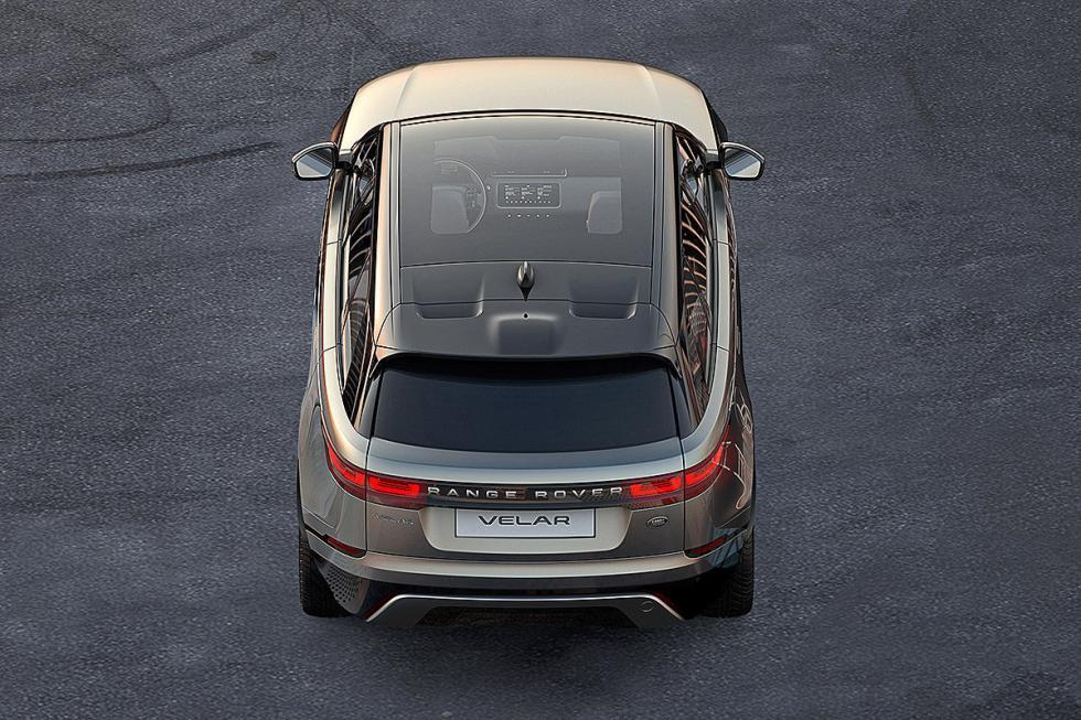 Range Rover Velar. Viene a llenar el hueco entre el Evoque y el Range Rover Evoq