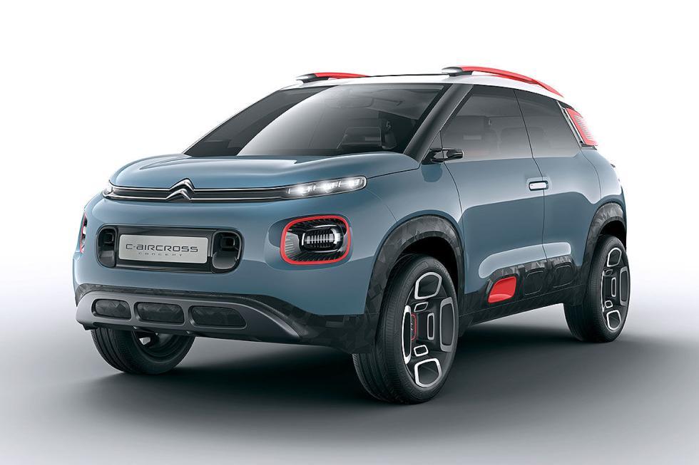 Citroën C-Aircross Concept. Un SUV de solo 4,13 metros sobra la base del C3.