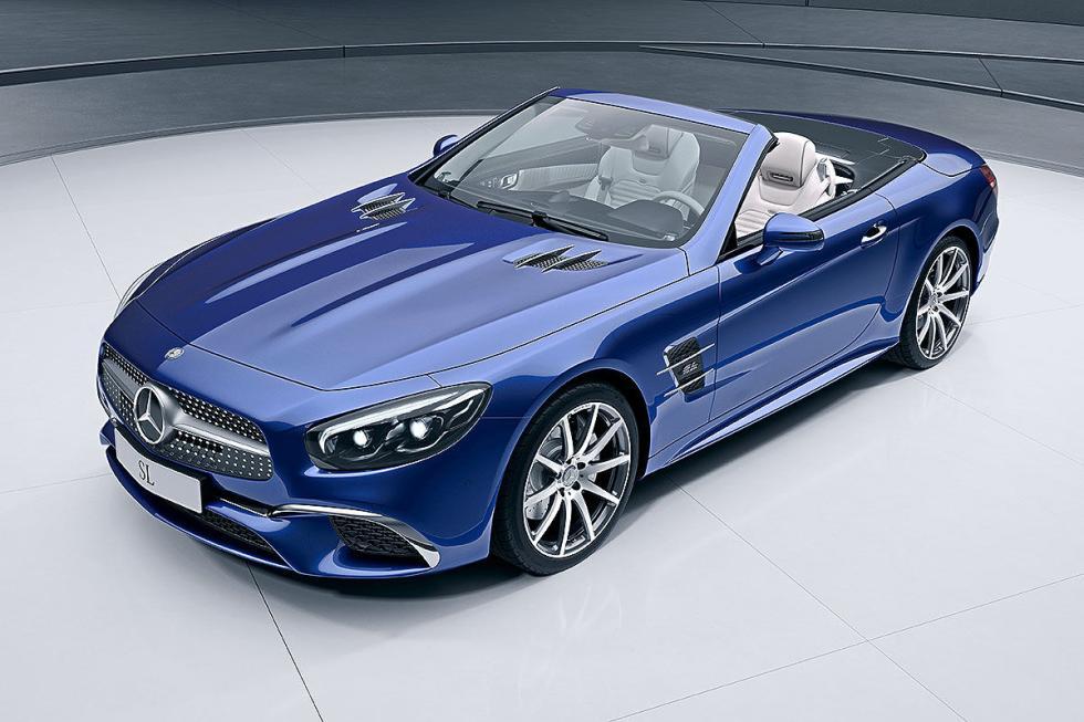Mercedes estreará dos roadsters: las nuevas generaciones del SL y el SLC