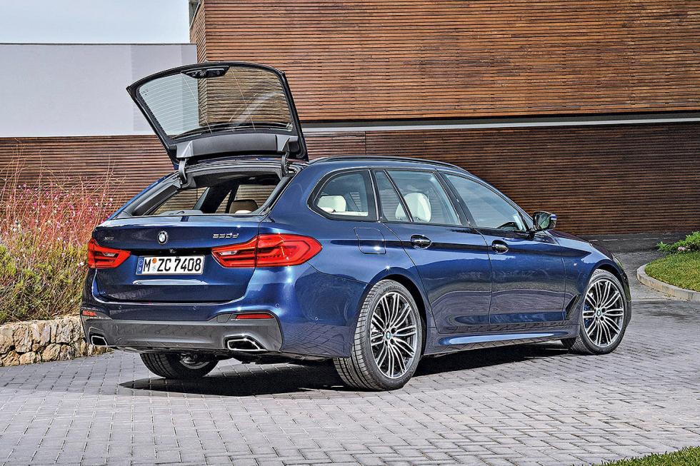 También veremos la quinta generación del BMW Serie 5 Touring.