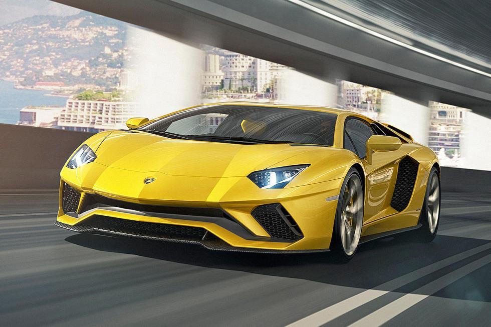 El Lamborghini Aventador S, version tope de gama. 2,9 sgundos de 0 a 100 km/h, y