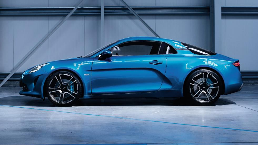 Alpine A110 lateral