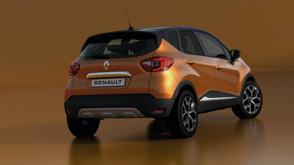 Renault Captur 2017 zaga