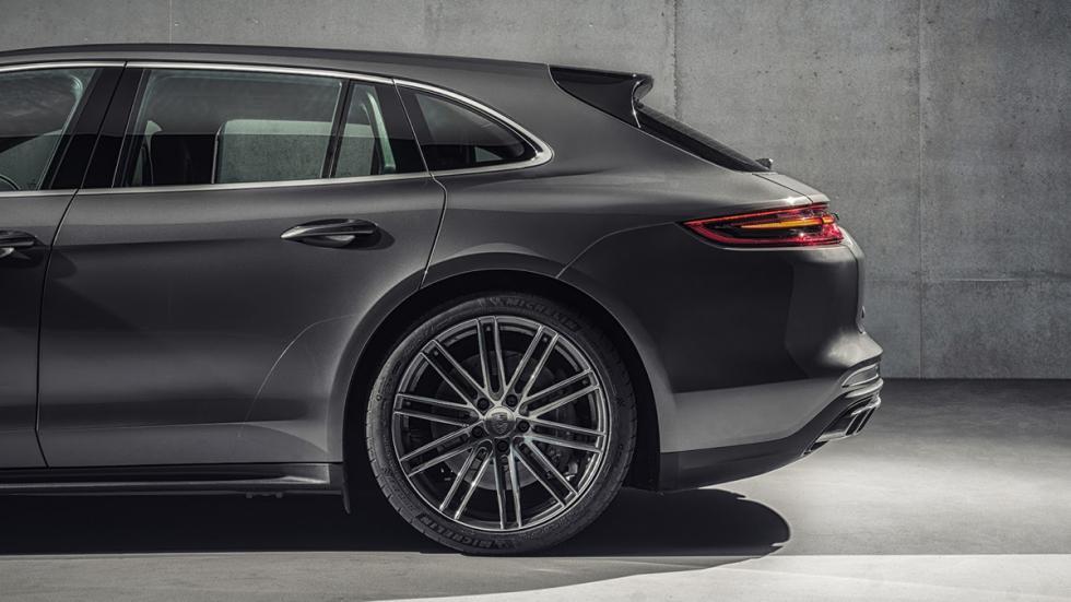 Porsche Panamera Sport Turismo 2017 detalle lateral trasera