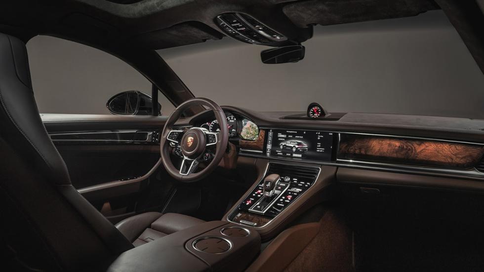 Porsche Panamera Sport Turismo 2017 habitáculo