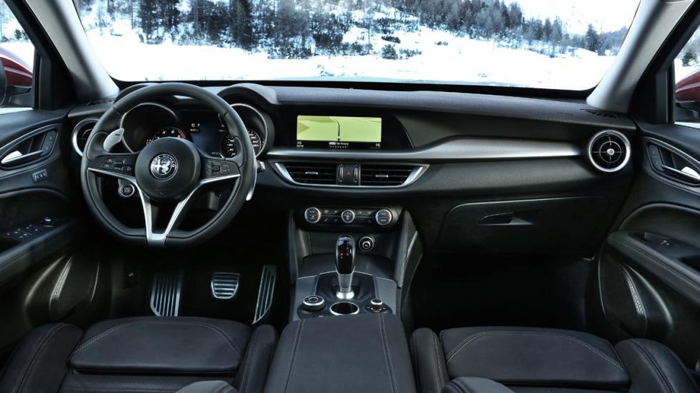 Prueba Alfa Romeo Stelvio interior