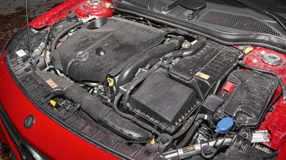 Mercedes GLA motor
