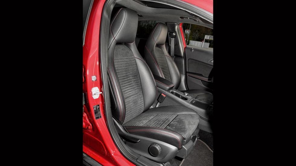 Mercedes GLA asientos
