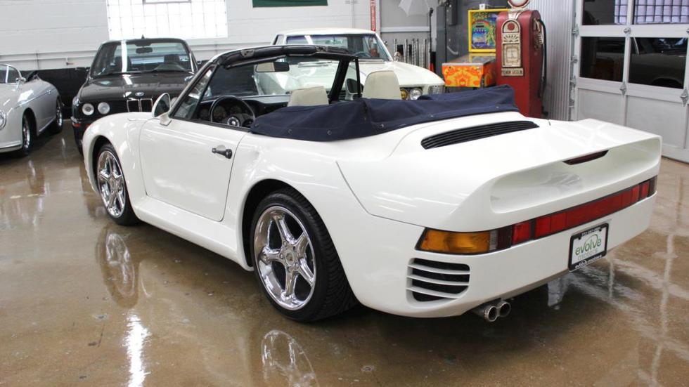 réplica Porsche 959 Cabriolet culo