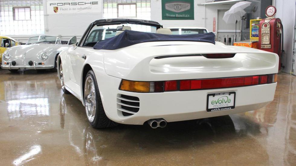 réplica Porsche 959 Cabriolet tres cuartos trasera