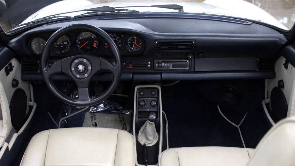 réplica Porsche 959 Cabriolet interior