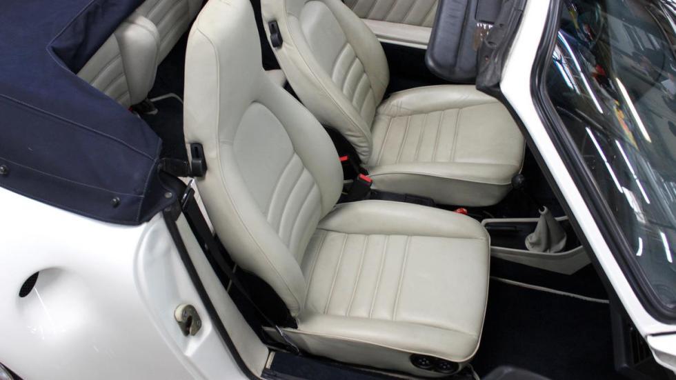 réplica Porsche 959 Cabriolet asientos