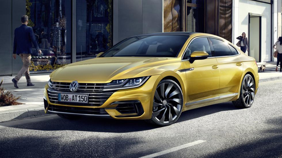Volkswagen Arteon R-Line delantera tres cuartos