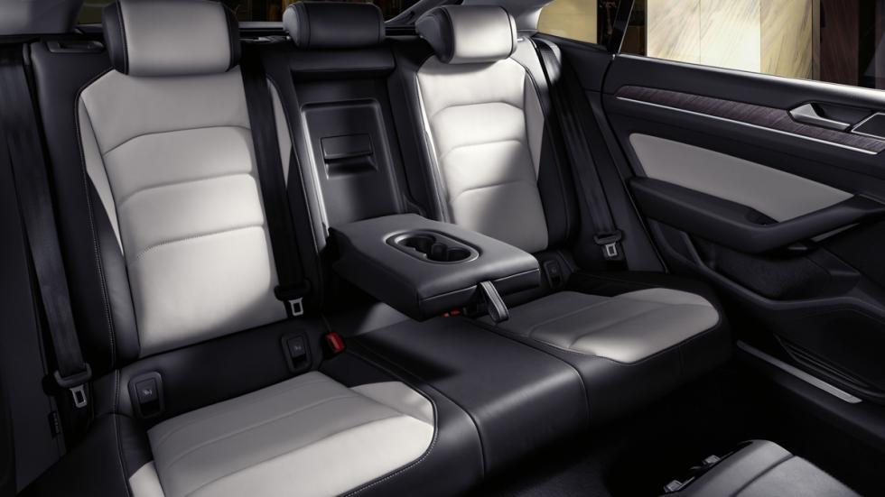 Volkswagen Arteon Elegance plazas traseras