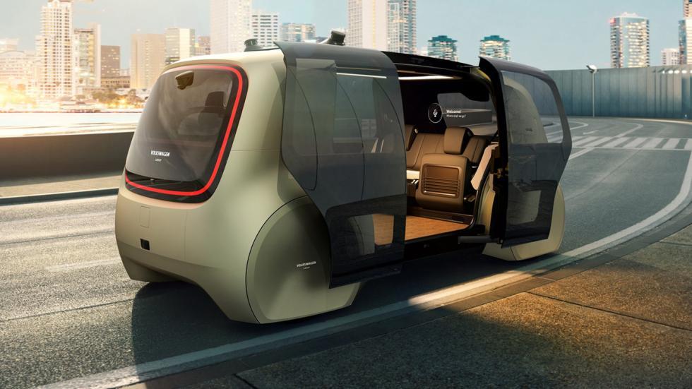 Volkswagen Sedric Concept zaga puertas