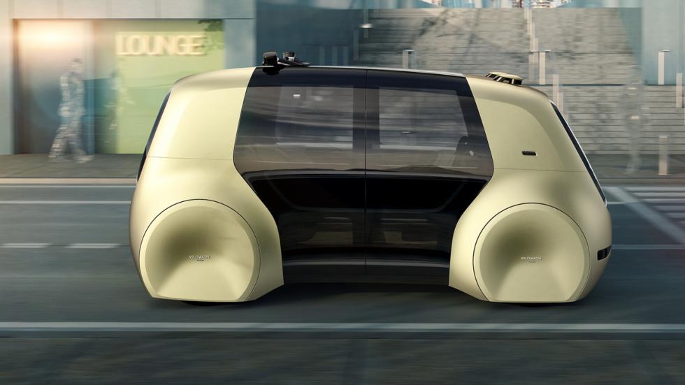 Volkswagen Sedric Concept lateral