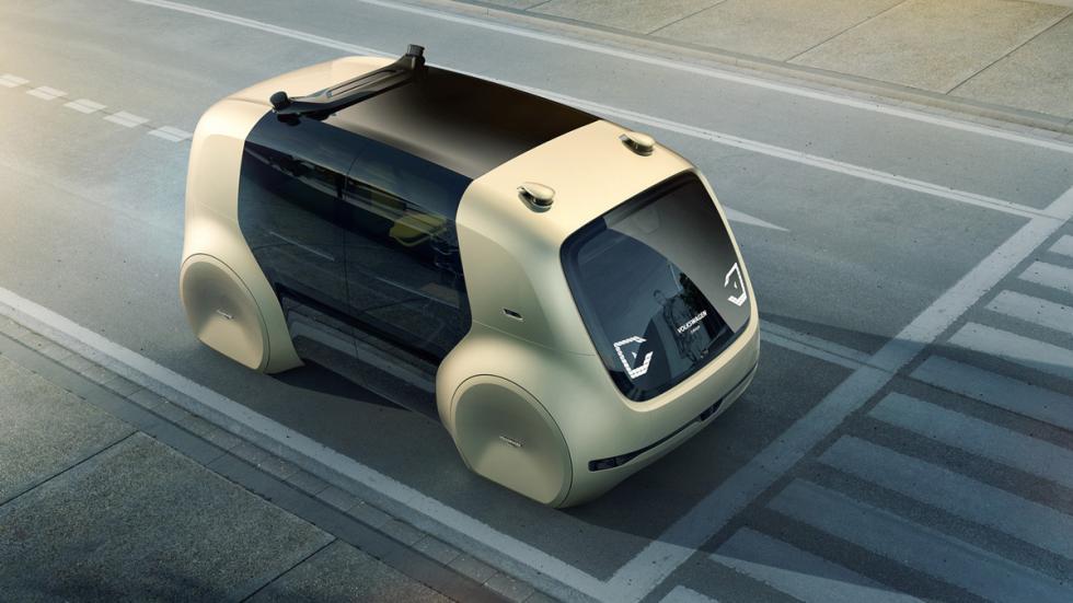 Volkswagen Sedric Concept delantera superior