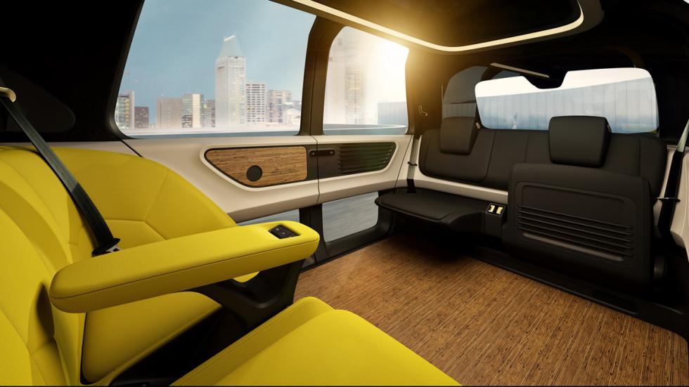 Volkswagen Sedric Concept delantera interior