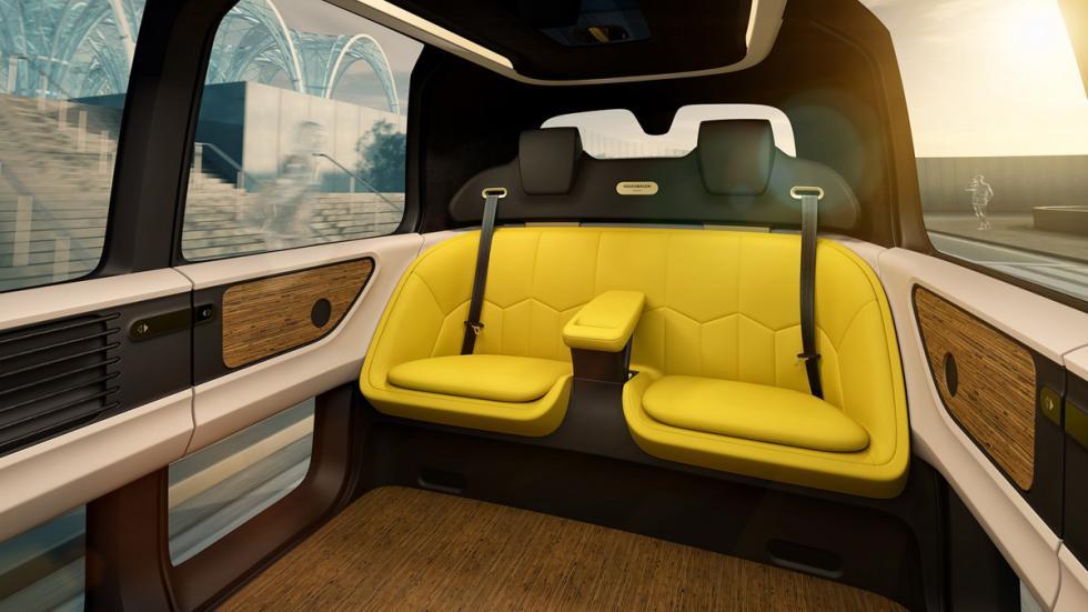 Volkswagen Sedric Concept plazas delanteras