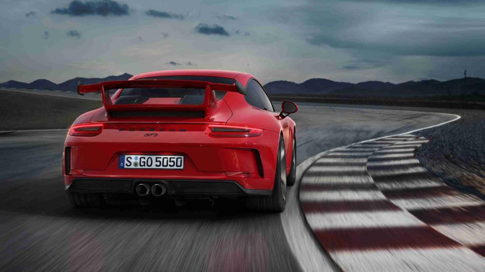 Porsche 911 GT3 2017 culo