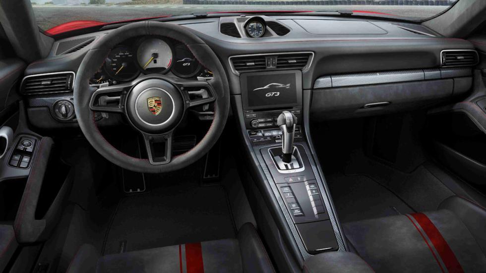 Porsche 911 GT3 2017 habitáculo