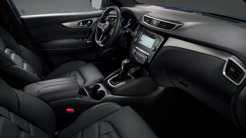 Nissan Qashqai 2017 habitáculo