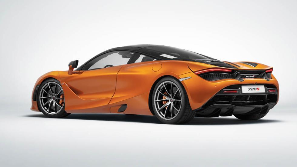 McLaren 720S trasera