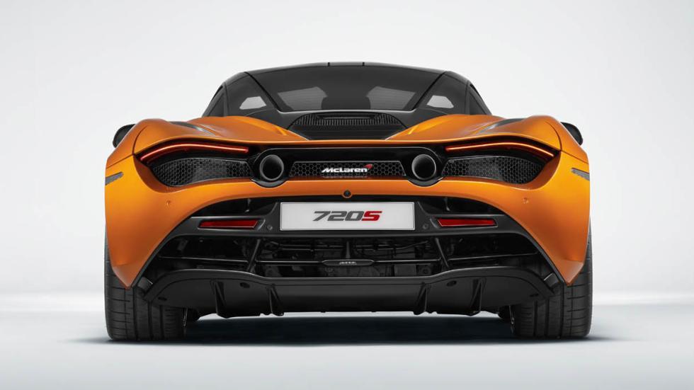 McLaren 720S culo