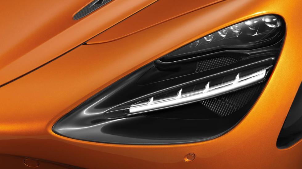 McLaren 720S detalle faro