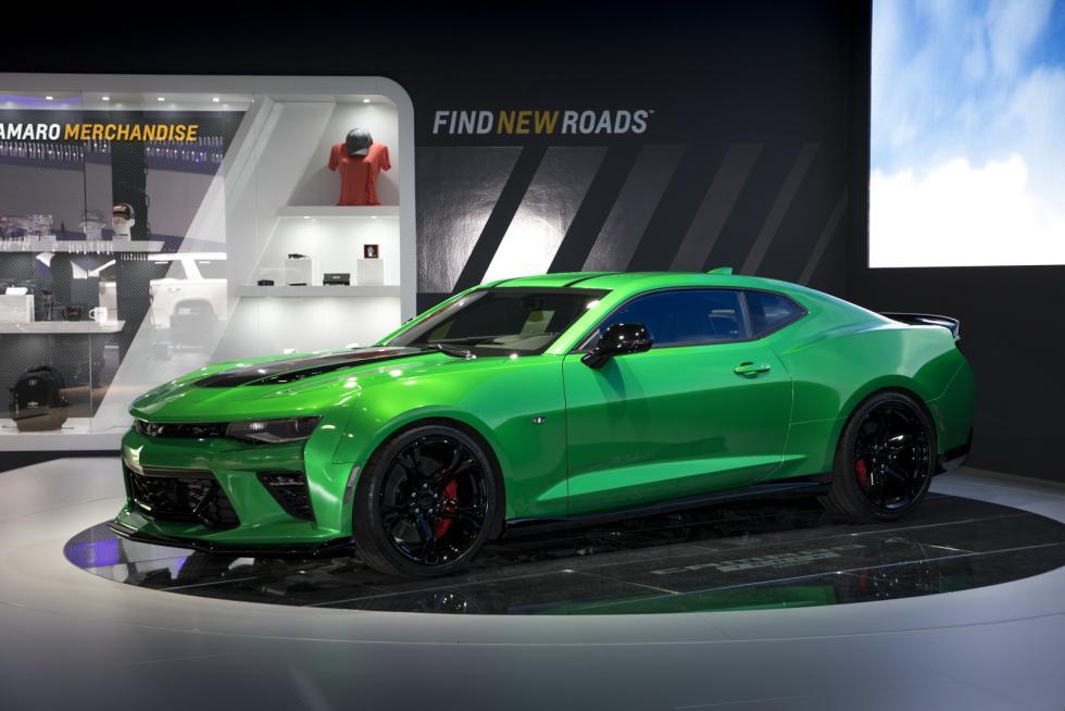 Chevrolet Camaro Track Concept delantera