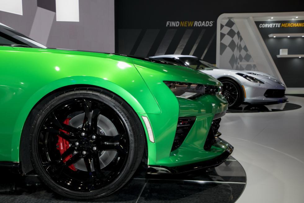 Chevrolet Camaro Track Concept detalle