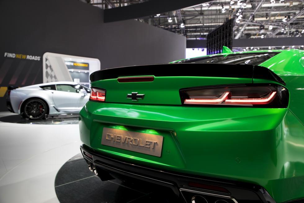 Chevrolet Camaro Track Concept detalle zaga