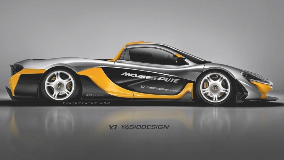 9-deportivos-transformados-pick-up-McLaren-P1