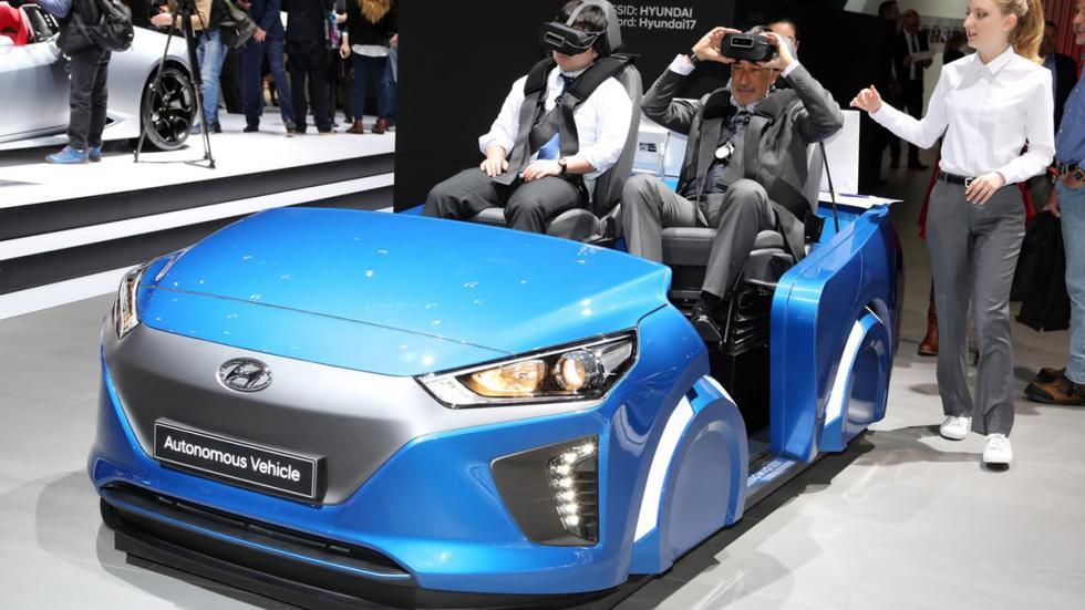 simulador conducción autónoma Hyundai