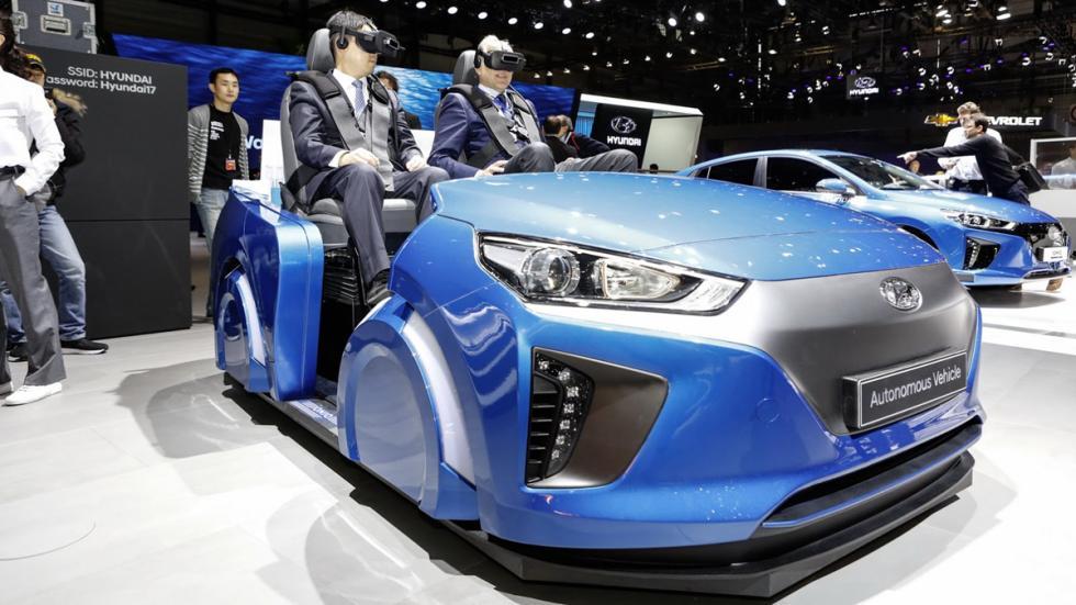 simulador conducción autónoma Hyundai delantera