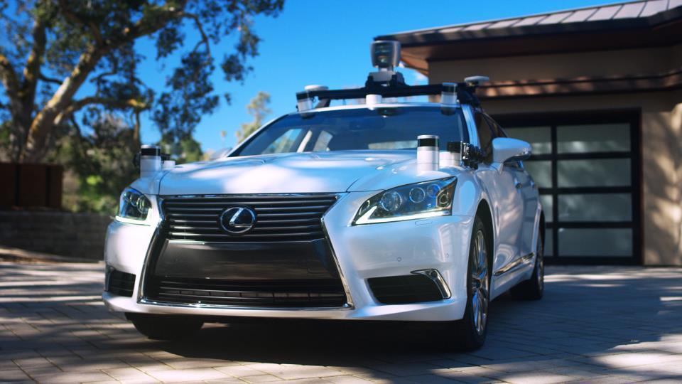 El nuevo coche autonómo de Toyota