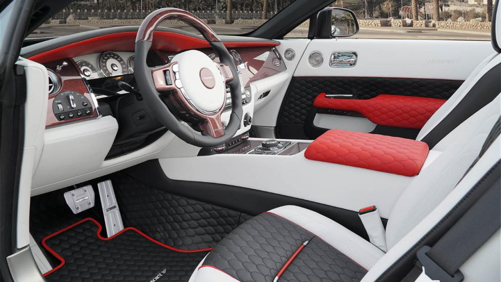 Rolls-Royce Dawn Mansory interior