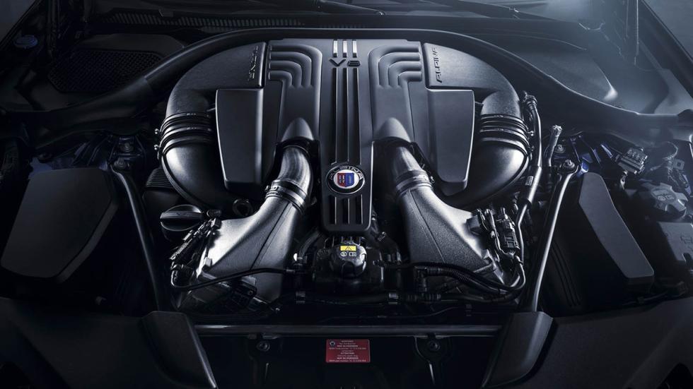 Alpina B5 Bi-Turbo 2017 motor