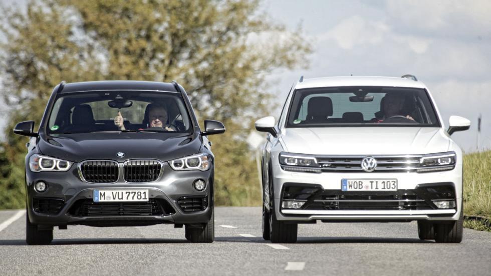 BMW X1 contra VW Tiguan