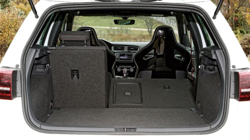 Volkswagen Golf GTI Clubsport maletero