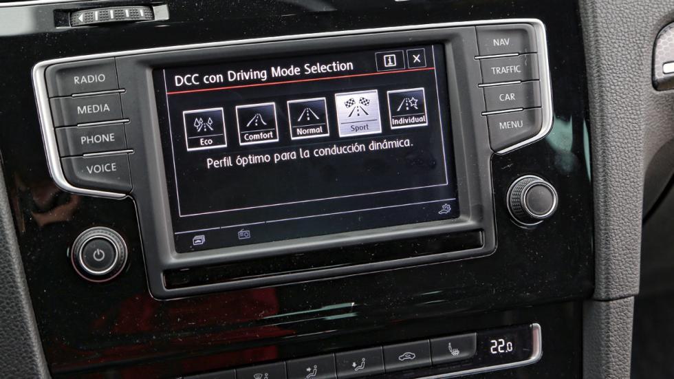 Volkswagen Golf GTI Clubsport pantalla
