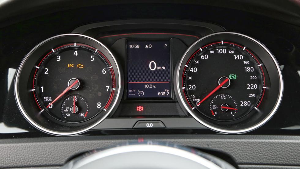 Volkswagen Golf GTI Clubsport cuadro de mandos