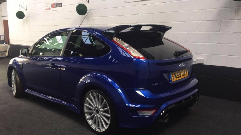 Ford Focus RS 2009 trasera