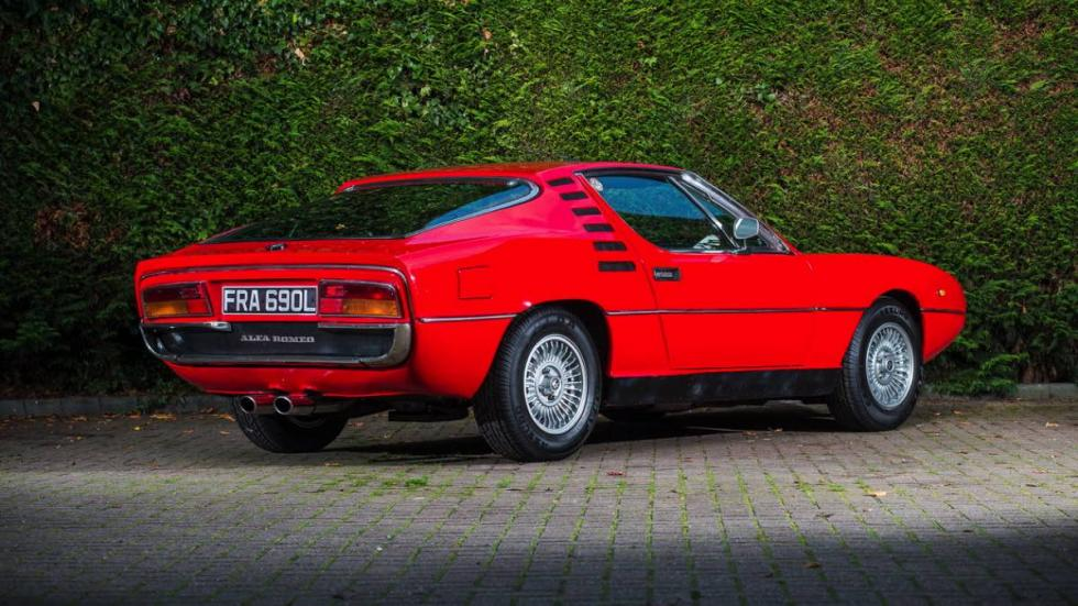 Alfa Romeo Montreal 1972 trasera