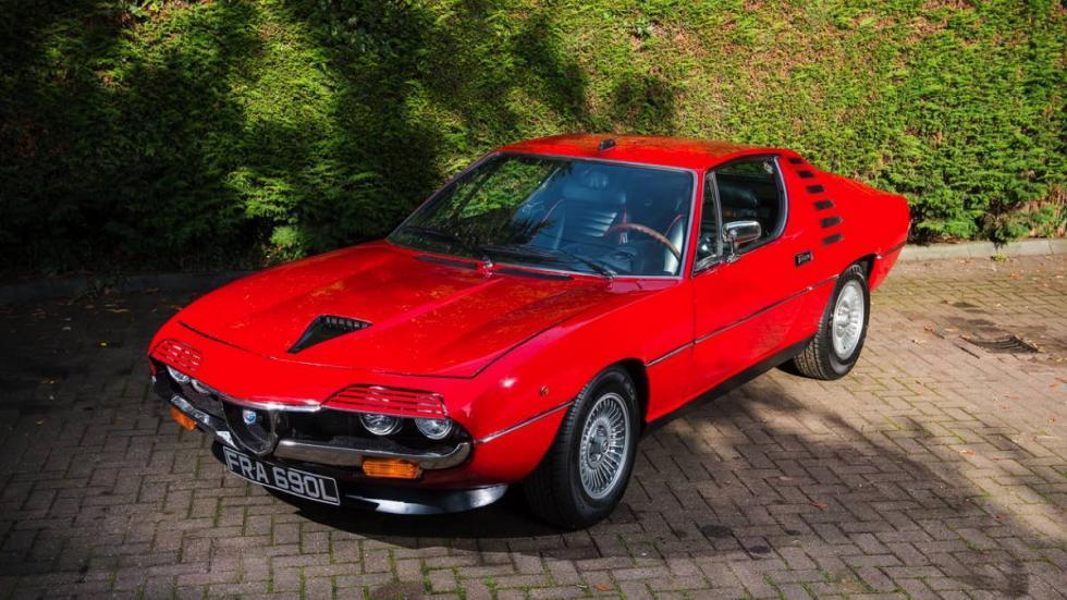 Alfa Romeo Montreal 1972 cenital