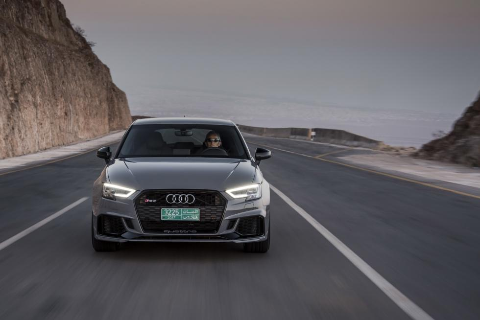 Probamos el Audi RS3 (2017)