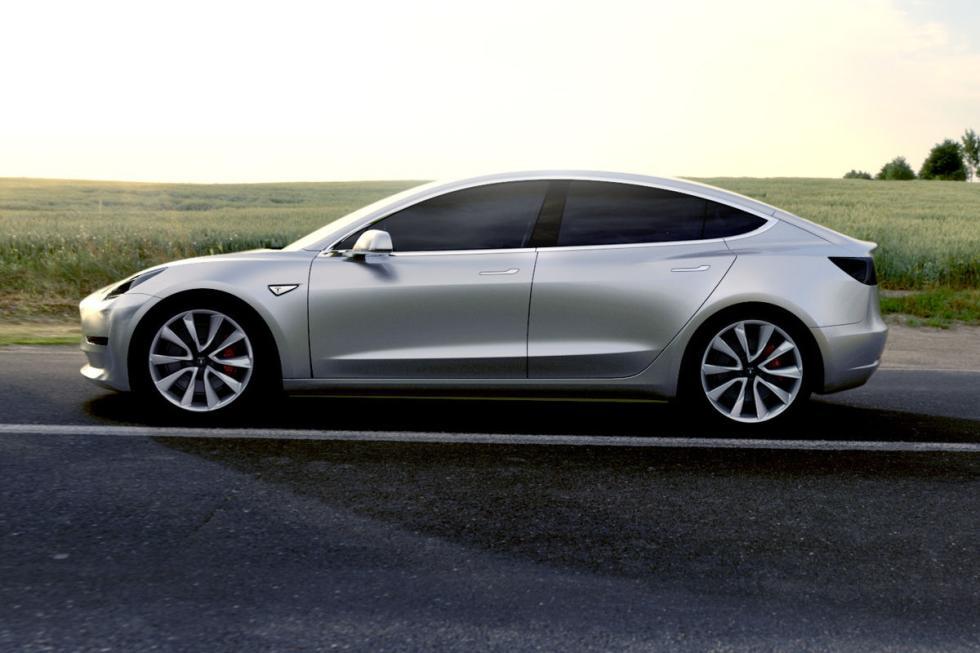 Inicio producción Tesla Model 3 en junio