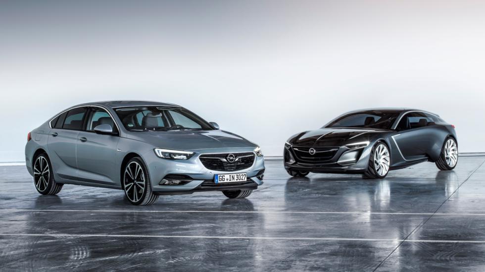 Opel Insignia Grand Sport y concept Monza
